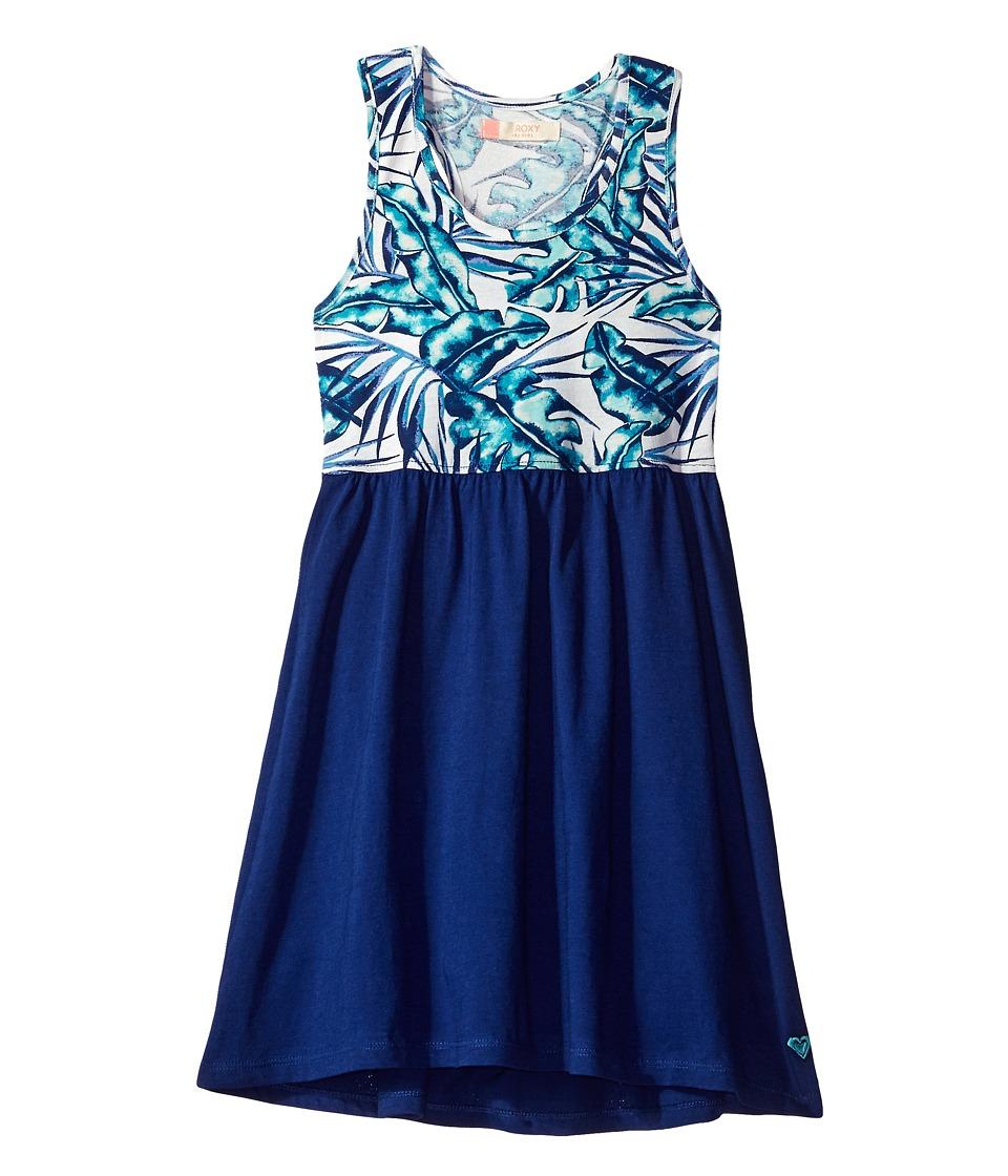 Roxy Kids - Geo Mix' in Dress Cover-Up (Big Kids) (Tropical Days/Marshmallow) Girl's Swimwear
