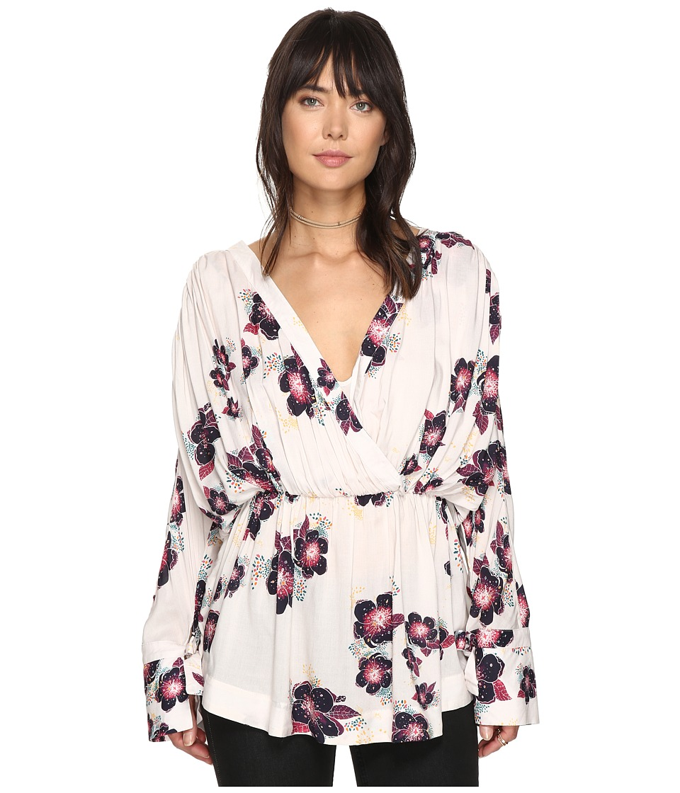 Free People - Tuscan Dreams Printed Tunic (Ivory) Women's Clothing