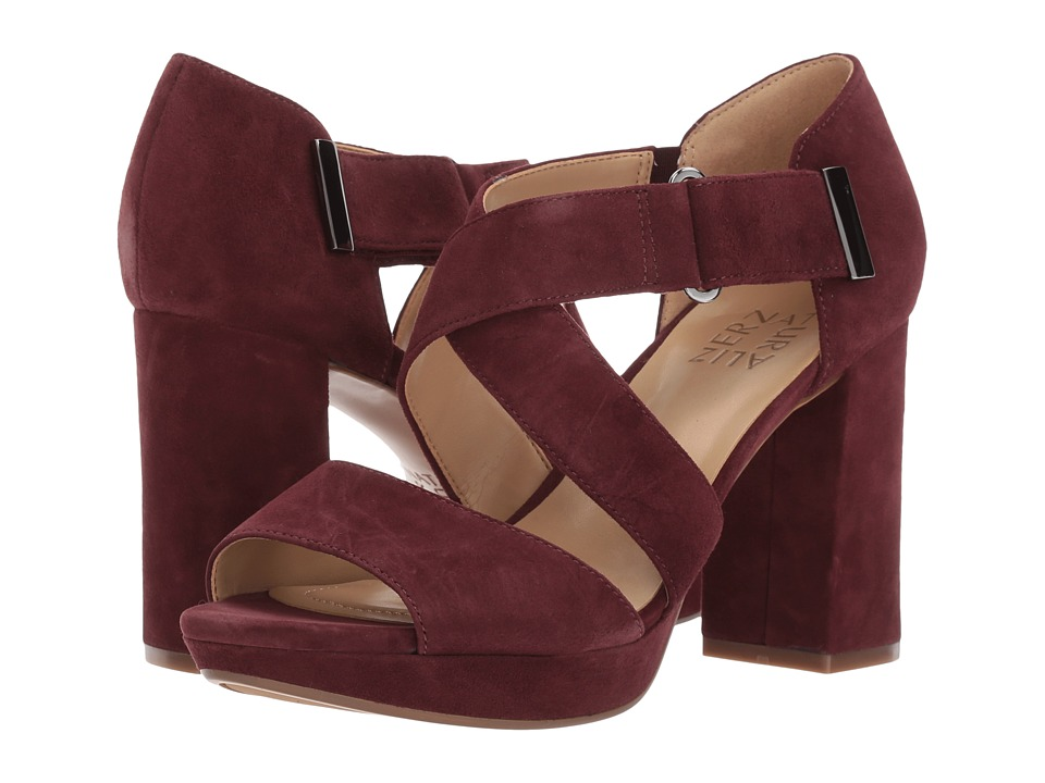 Naturalizer - Harper (Bordo Suede) Women's Shoes