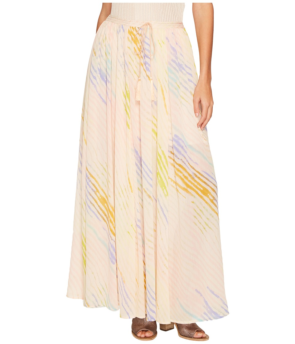 Free People - True To You Maxi Skirt (Ivory) Women's Skirt