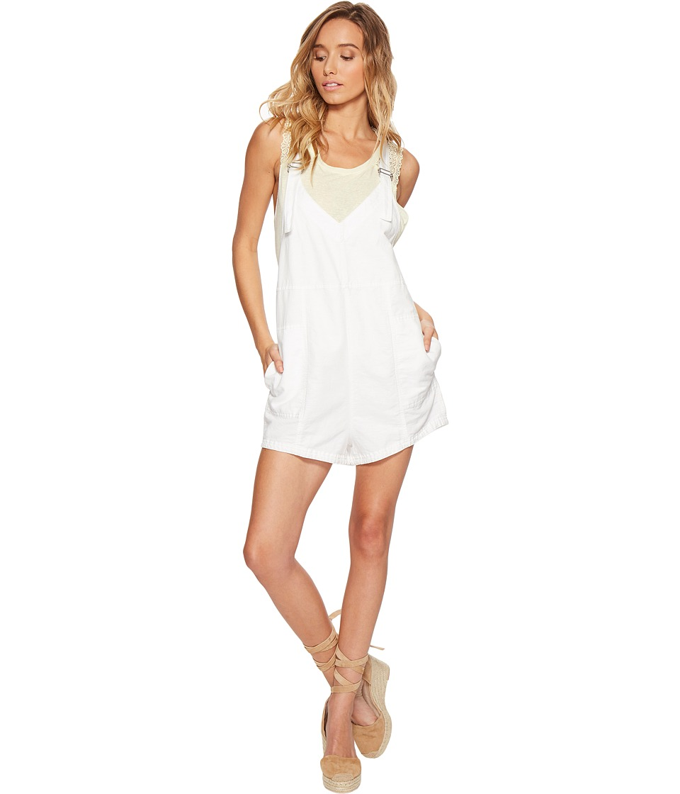 Free People - Summer Escape Romper (Ivory) Women's Jumpsuit & Rompers One Piece