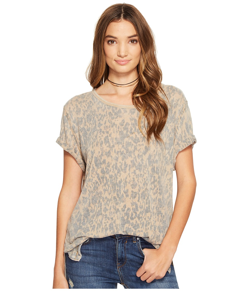 Free People - Army Tee (Brown) Women's T Shirt
