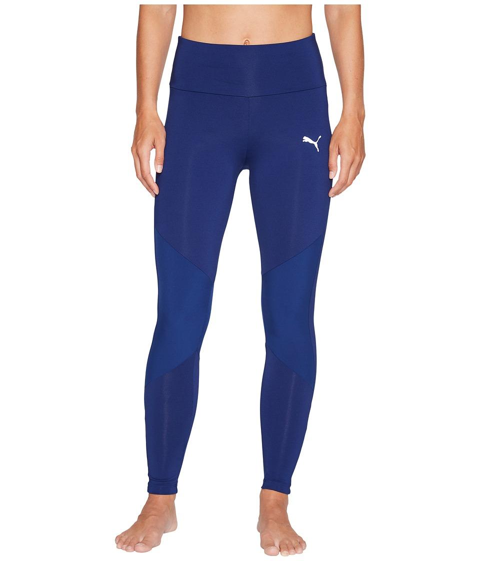 PUMA - Transition 7/8 Leggings (Blue Depths) Women's Casual Pants