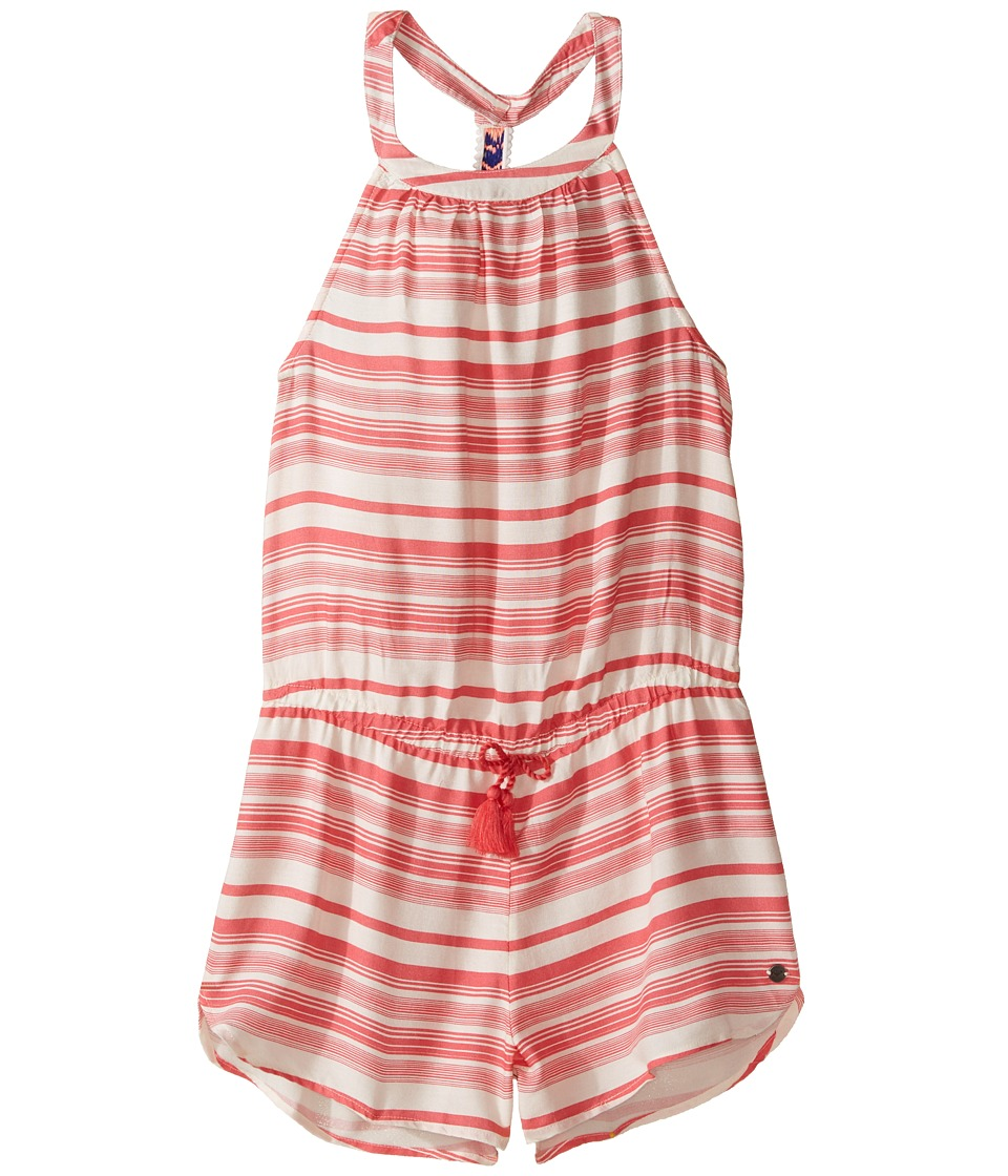 Roxy Kids - More Travels Romper (Big Kids) (Marshmallow/Lola Stripe) Girl's Jumpsuit & Rompers One Piece