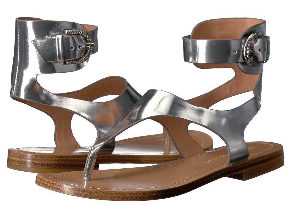 Sigerson Morrison Adria (Silver Leather) Women