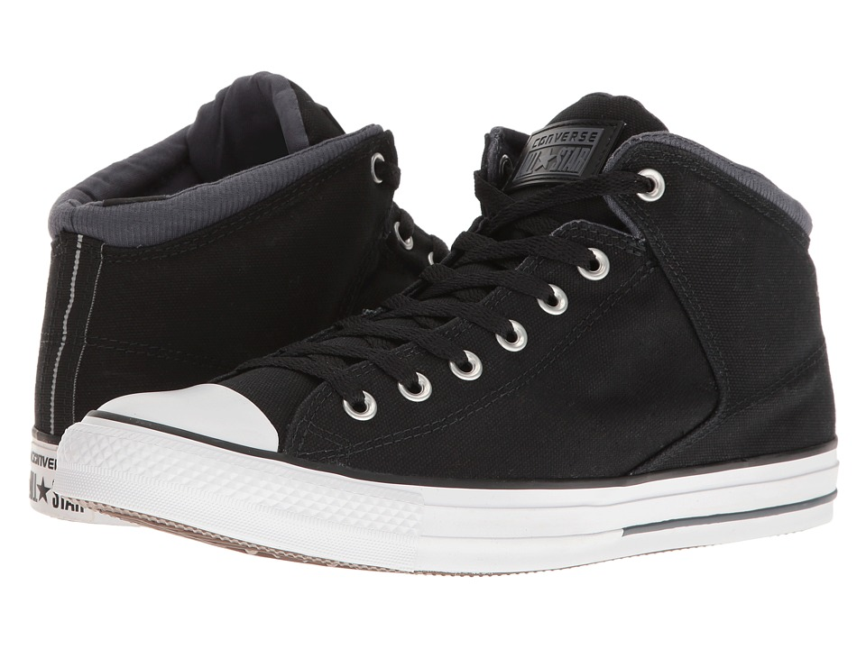 Converse - CTAS High Street Hi (Black/Sharkskin) Men's Lace up casual Shoes