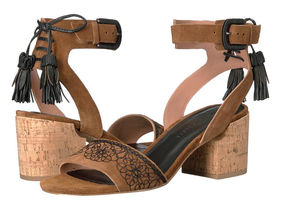 Sigerson Morrison - Riva (Cognac Suede) Women's Shoes