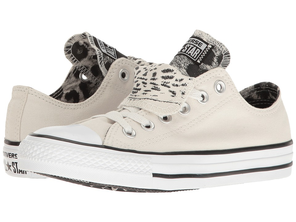 Converse - CTAS Double Tongue Ox (Buff/Black/White) Women's Lace up casual Shoes