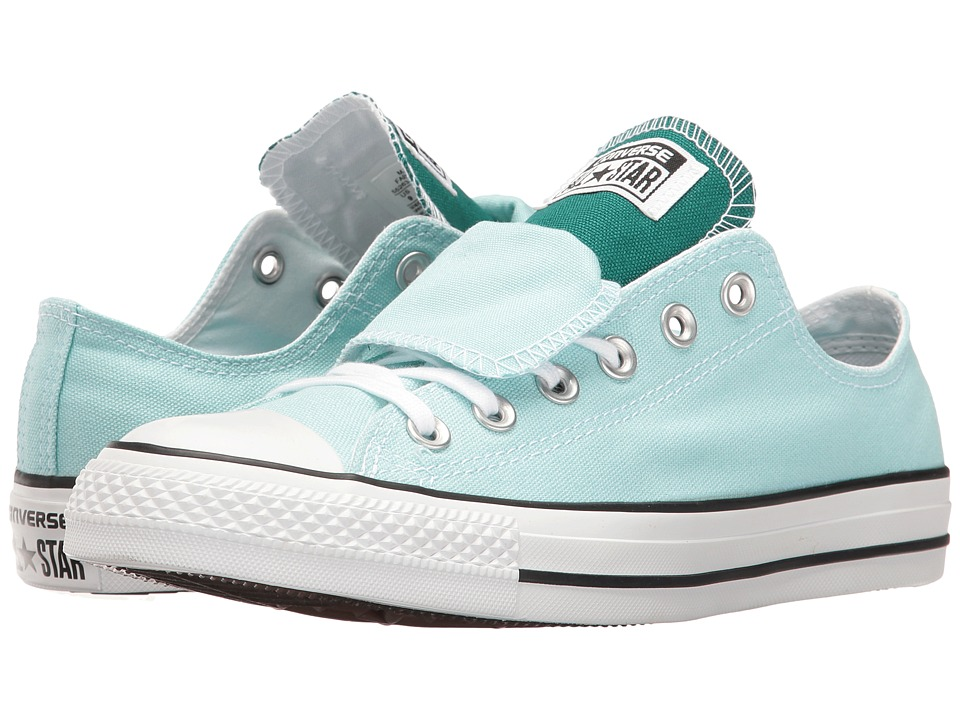 Converse - CTAS Double Tongue Ox (Blue/White/Teal) Women's Lace up casual Shoes