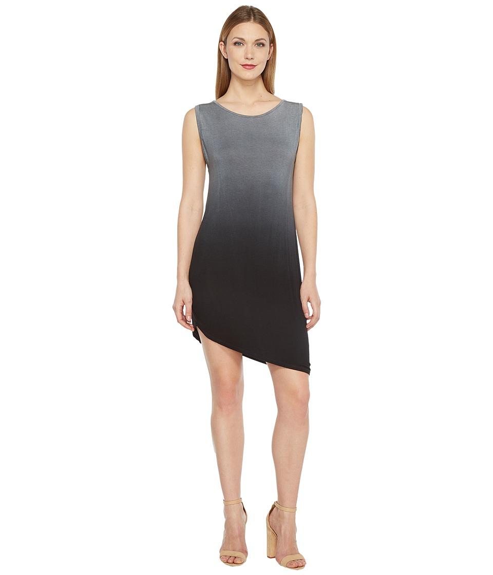 Culture Phit - Remy Sleeveless Ombre Dress (Grey) Women's Dress