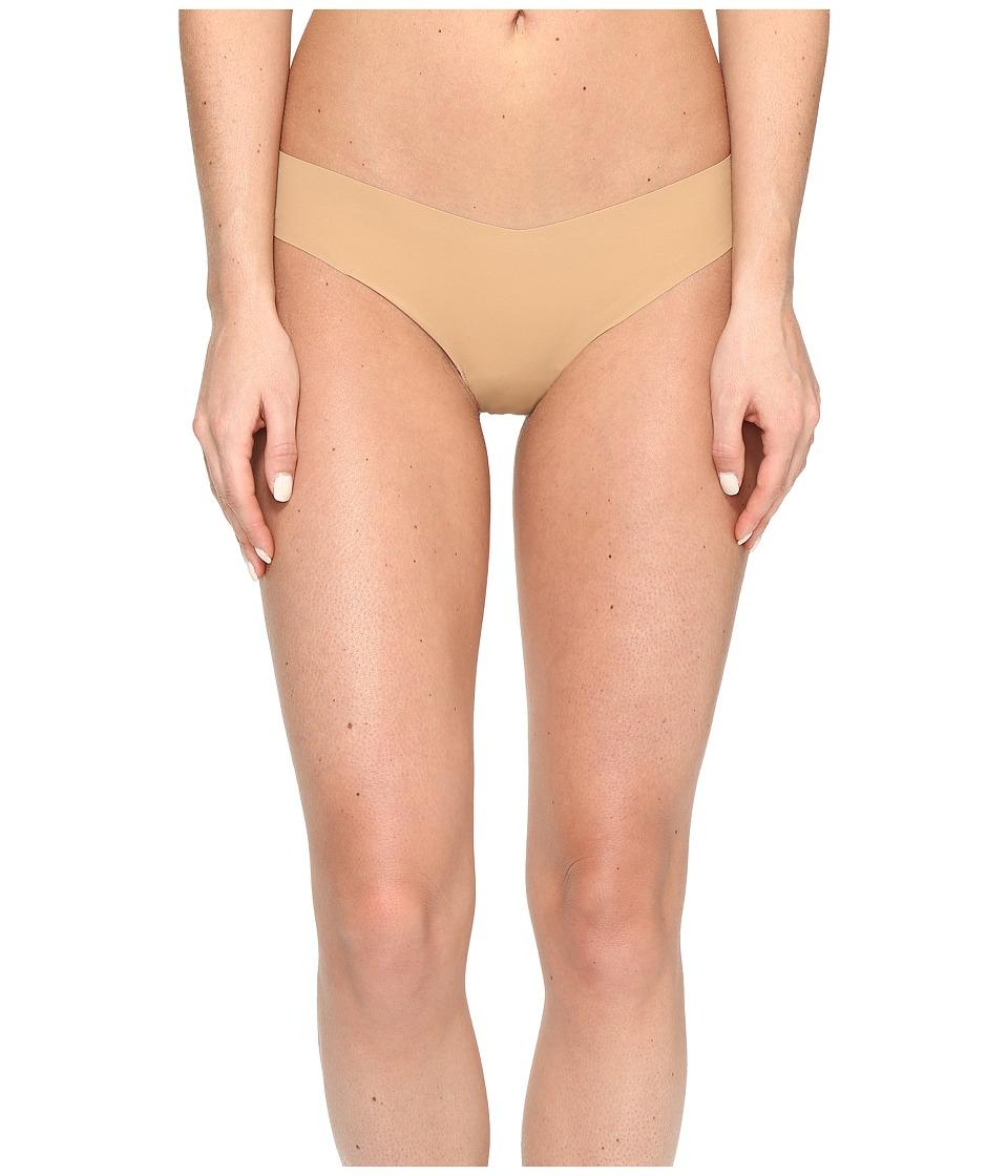 Commando - Solid Thong CT01 (Dark Nude) Women's Underwear