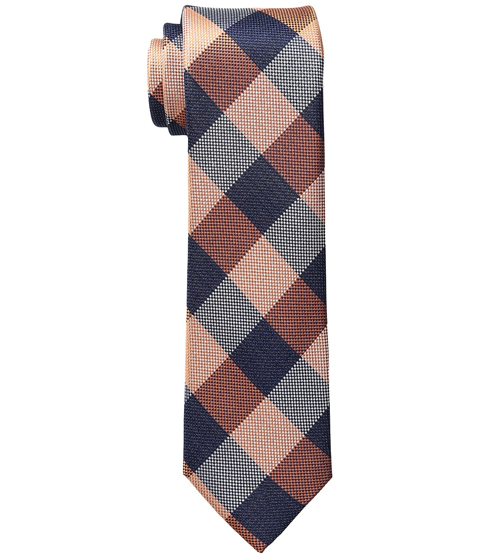 Tommy Hilfiger - Hermosa Plaid (Orange) Ties
