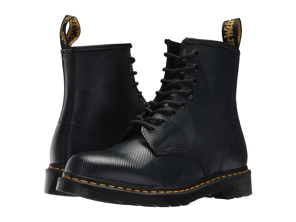 Dr. Martens 1460 8-Eye Boot (Charcoal/Black Geostripe) Men