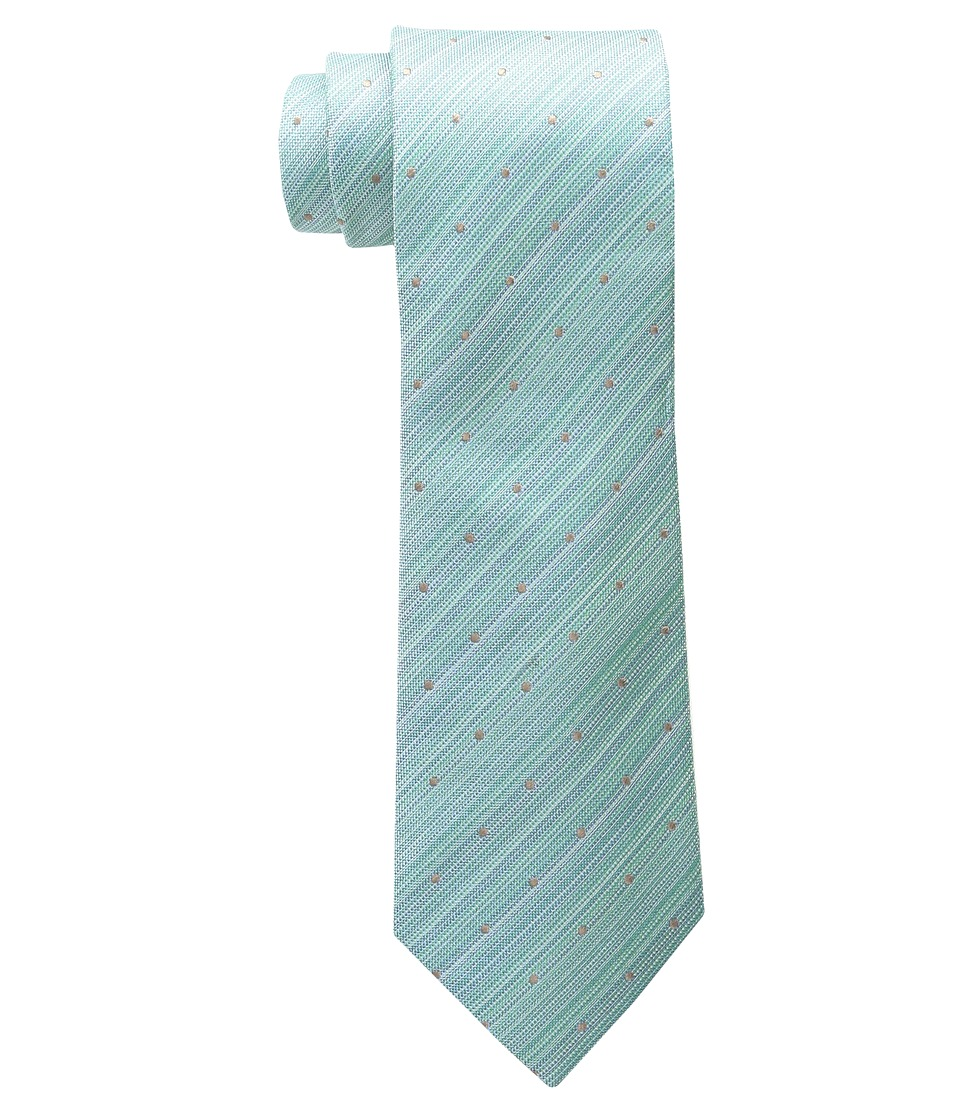 Kenneth Cole Reaction - Marble Neat (Green) Ties