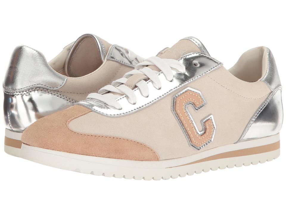 COACH - Ian (Silver/Chalk Mirror Metallic/Suede) Women's Shoes