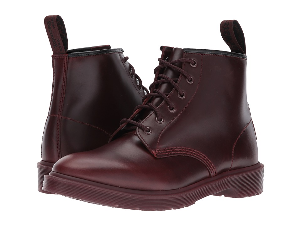 Dr. Martens 101 Brando 6-Eyelet Boot (Oxblood Brando) Boots