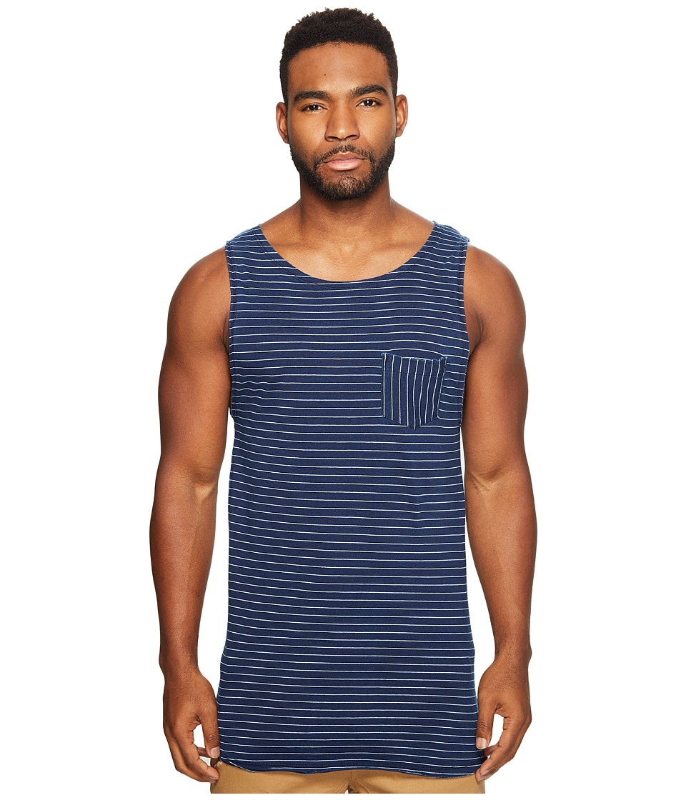 Scotch & Soda Singlet in Jersey Quality with Yarn-Dyed Stripe Pattern and Chestpocket (Combo B) Men