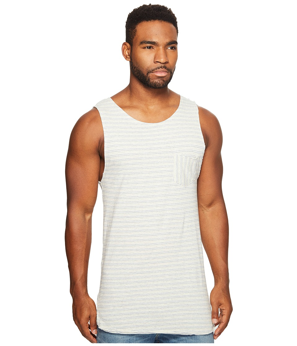Scotch & Soda - Singlet in Jersey Quality with Yarn-Dyed Stripe Pattern and Chestpocket (Combo A) Men's Clothing