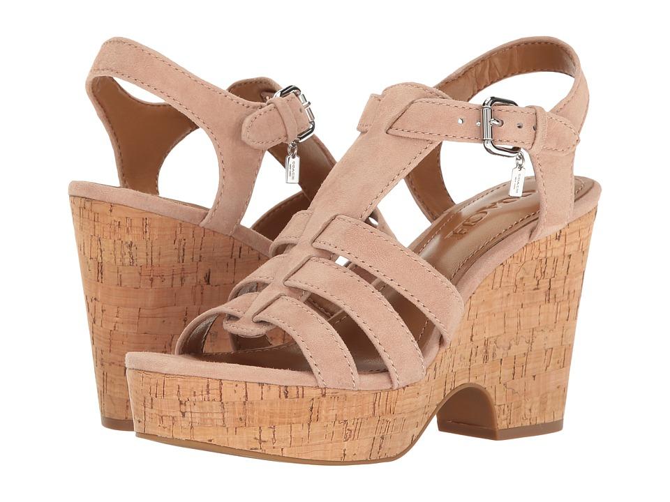 COACH - Kennedy (Beechwood Lux Suede) Women's Shoes