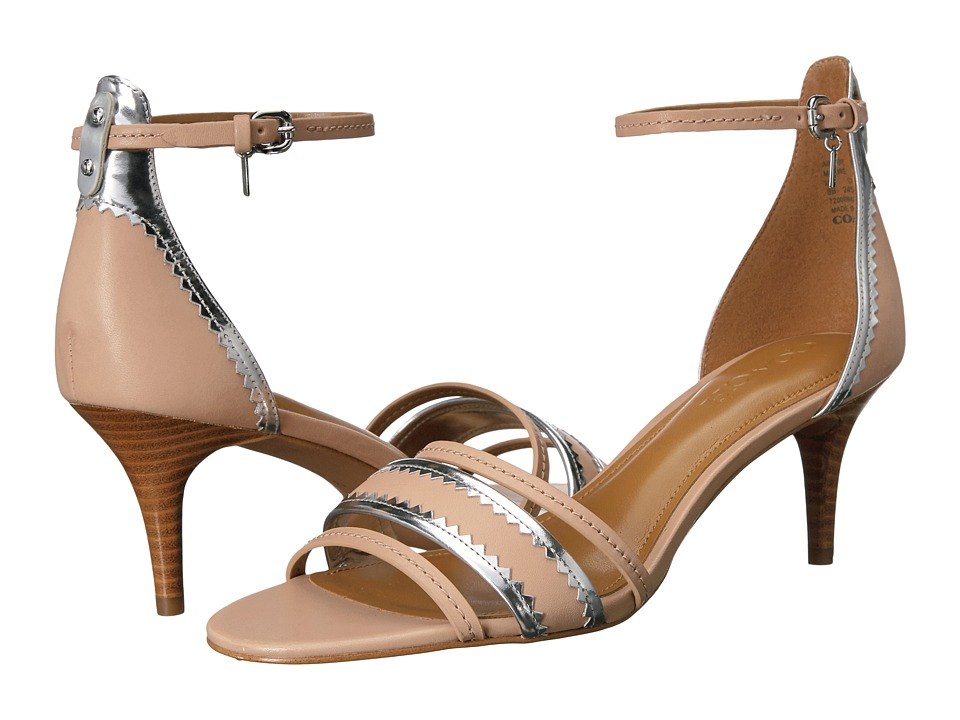 COACH - Maxine (Beechwood/Silver Matte Calf/Mirror Metallic) Women's Shoes