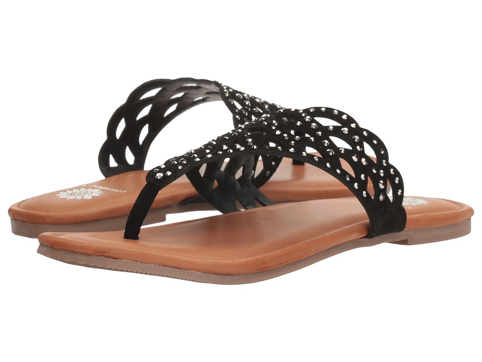 Yellow Box - Capricorn (Black) Women's Dress Sandals