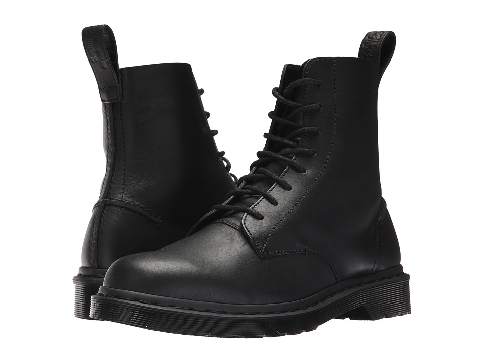 Dr. Martens Pascal Decon 8-Eye Boot (Black Naples) Men