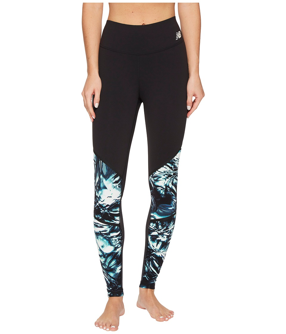 New Balance - Intensity Tights (Black Thermal Wrapping) Women's Clothing
