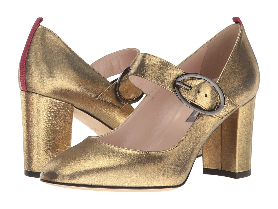 SJP by Sarah Jessica Parker - Austen (Karat Gold Leather) Women's Shoes