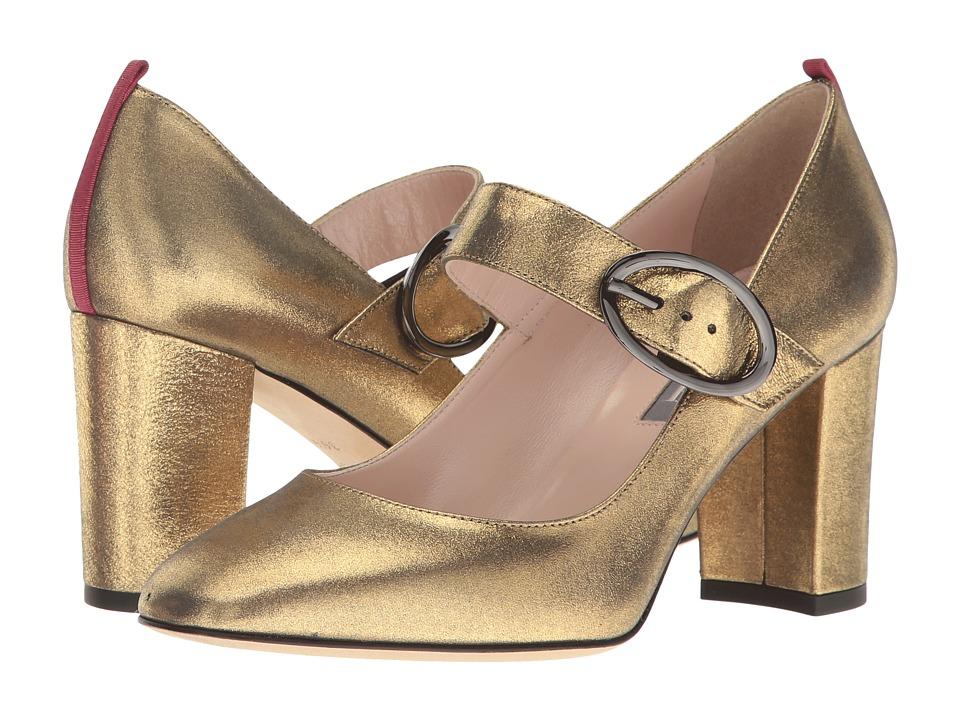 SJP by Sarah Jessica Parker - Austen (Karat Gold Leather) Women's Shoes