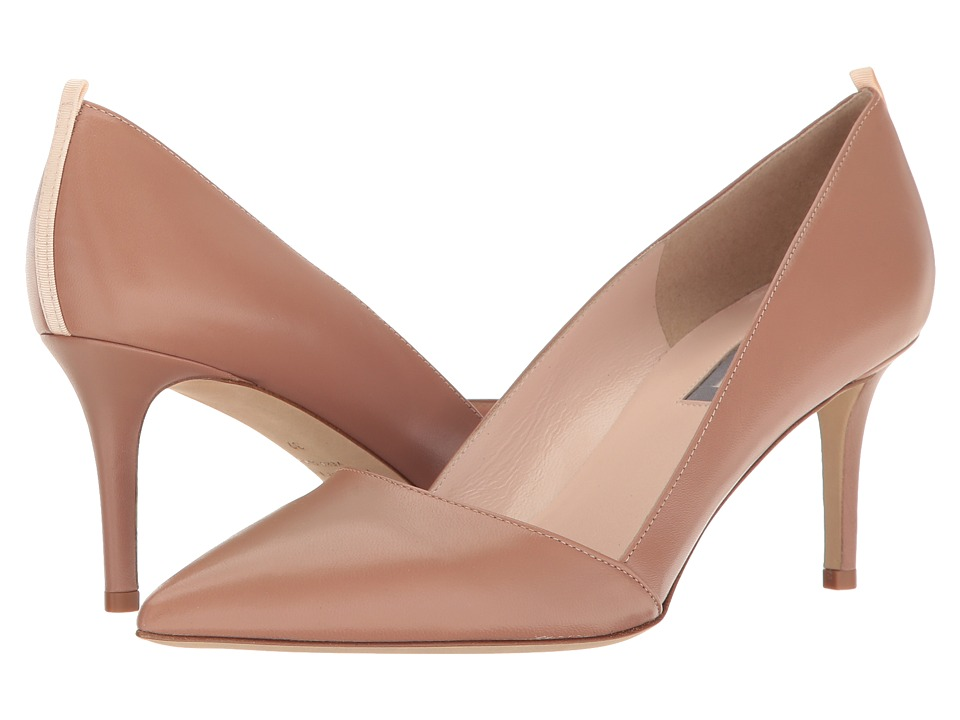 SJP by Sarah Jessica Parker - Rampling 70 (Sneak Brown Leather) Women's Shoes