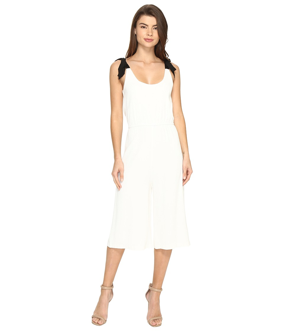 Nicole Miller - Harbor Playsuit (White) Women's Jumpsuit & Rompers One Piece