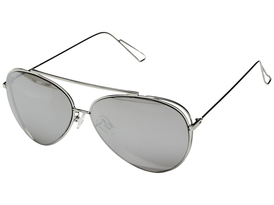 Steve Madden - Dahlia (Silver) Fashion Sunglasses