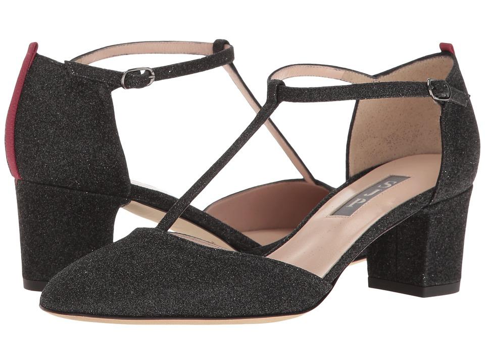 SJP by Sarah Jessica Parker - Pet (Doozy Black Glitter) Women's Shoes