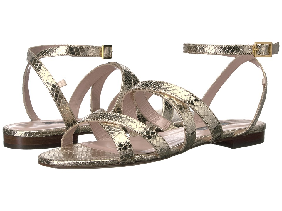 SJP by Sarah Jessica Parker - Excursion (Soft Platino Metallic) Women's Shoes