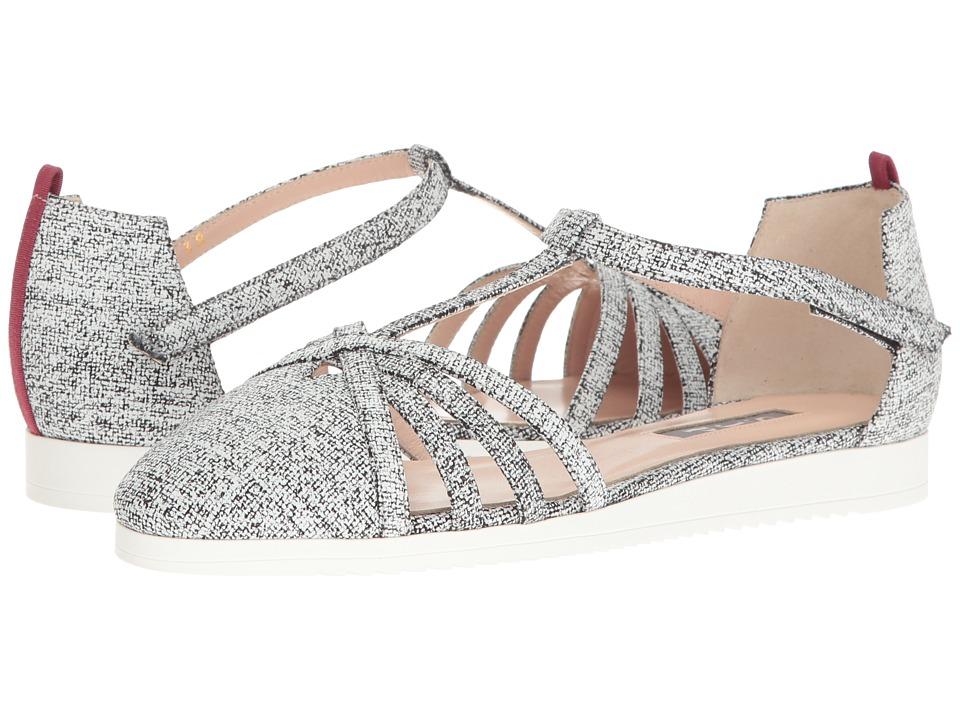 SJP by Sarah Jessica Parker - Meteor (Sought Grey Linen) Women's Shoes