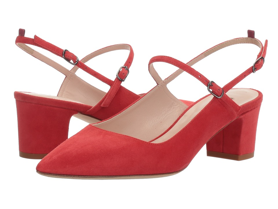 SJP by Sarah Jessica Parker - Citizen (Diva Red Suede) Women's Shoes