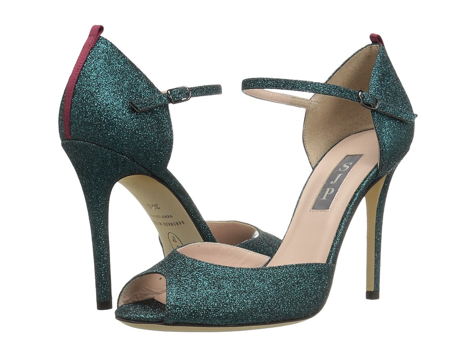 SJP by Sarah Jessica Parker - Ursula (Give Blue Glitter) Women's Shoes