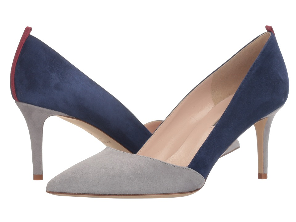 SJP by Sarah Jessica Parker - Rampling 70 (Colonel Grey/Oceano Suede) Women's Shoes