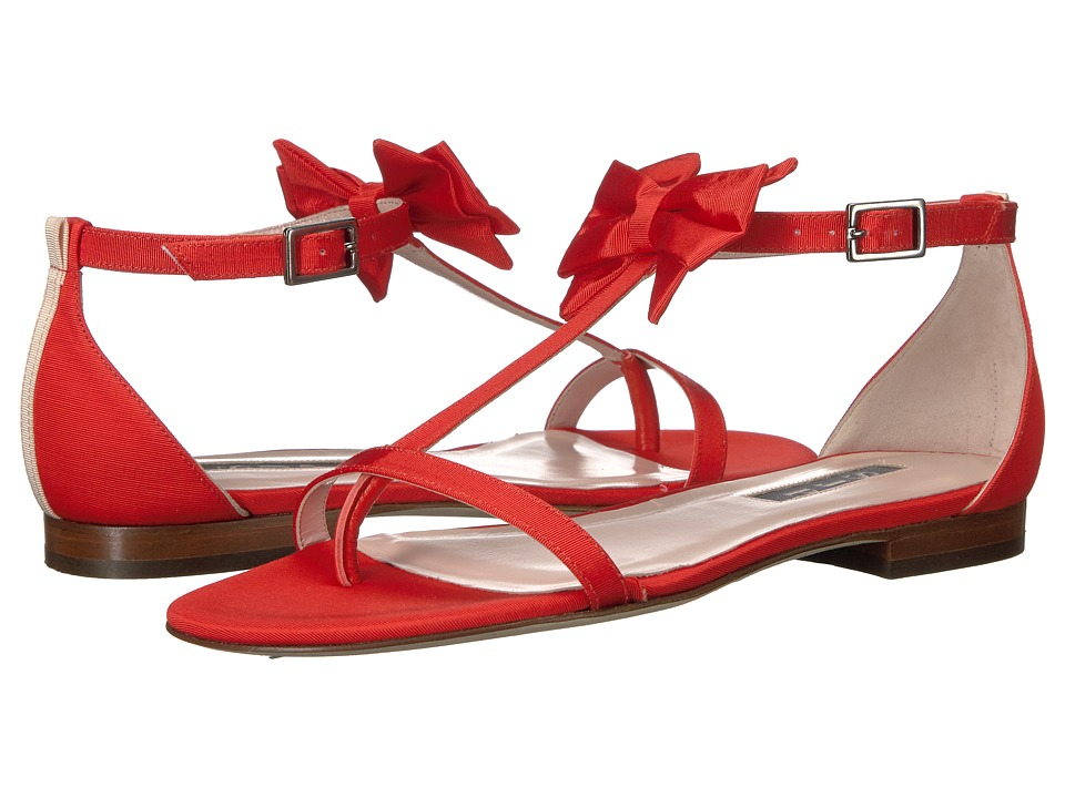 SJP by Sarah Jessica Parker - Tots (Poppy Grosgrain) Women's Shoes