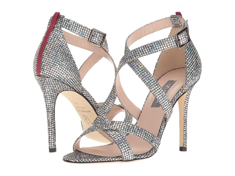 SJP by Sarah Jessica Parker - Strut (Silver Scintillate) Women's Shoes