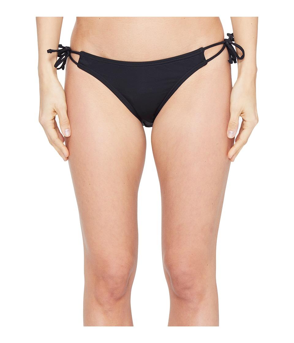 Echo Design Solid String Bikini Bottom (Black) Women