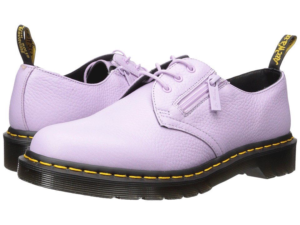 Dr. Martens 1461 w/ Zip 3-Eye Shoe (Orchid Purple Aunt Sally) Women