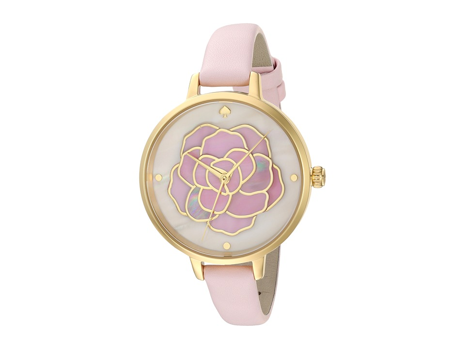 Kate Spade New York - Rose Metro Watch - KSW1257 (Gold/Pink) Watches