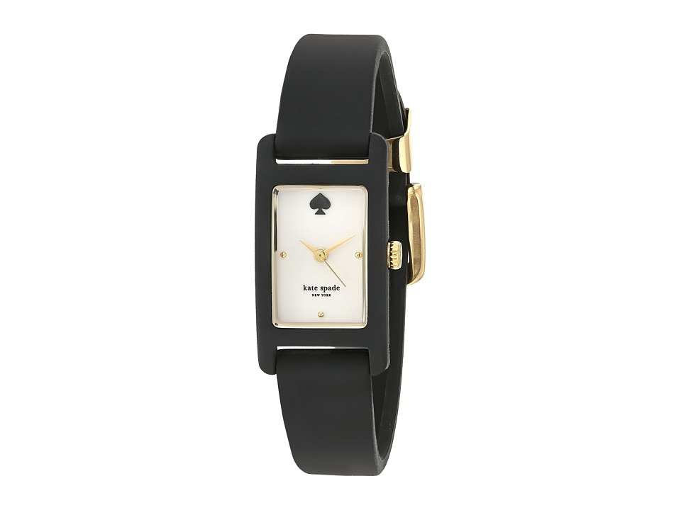 Kate Spade New York - 18 X 25mm Duffy Square Watch - KSW1275 (Black) Watches