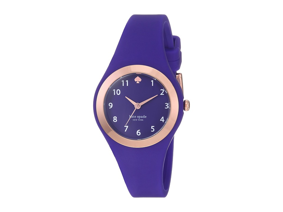 Kate Spade New York - 30mm Rumsey Watch - KSW1306 (Rose Gold/Blue) Watches