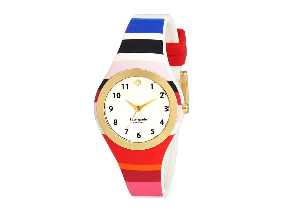 Kate Spade New York - 30mm Rumsey Watch - KSW1305 (Gold/Multi) Watches