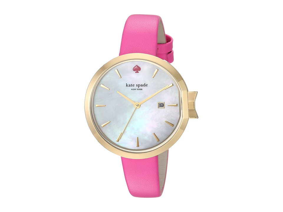 Kate Spade New York - 34mm Park Row Watch - KSW1268 (Silver/Pink) Watches