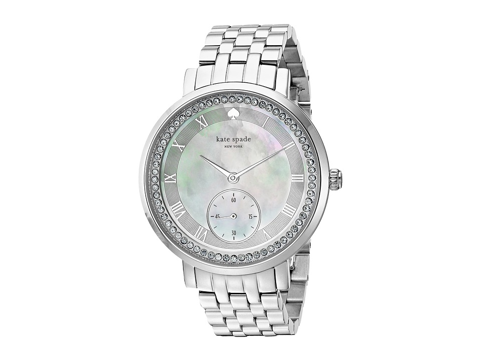 Kate Spade New York - 38mm Monterey Watch - KSW1292 (Silver) Watches