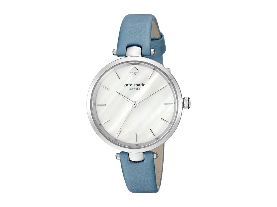 Kate Spade New York - 36mm Holland Watch - KSW1282 (Silver/Blue) Watches