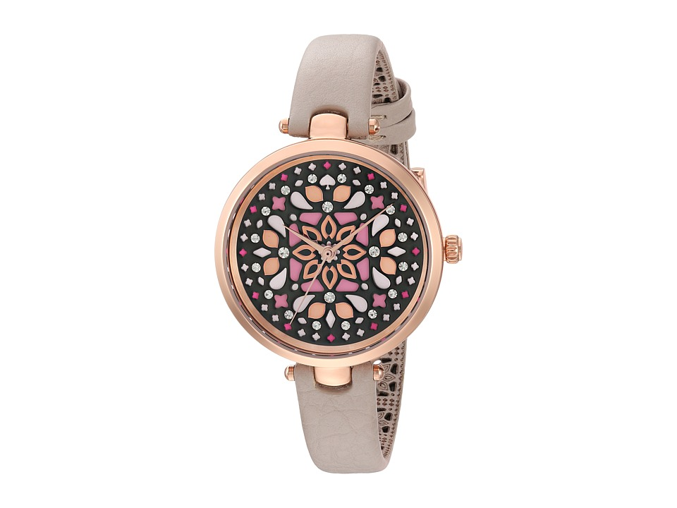 Kate Spade New York - 34mm Holland Watch - KSW1260 (Rose Gold/Grey) Watches